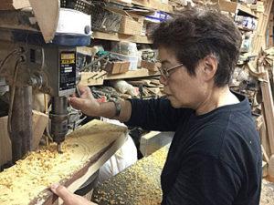 木製お弁当箱製造者金城さん